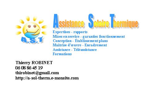 carte visite AST