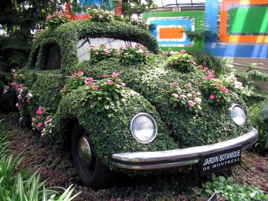 La voiture qui compense sa pollution